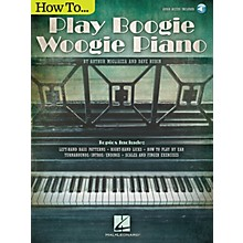 Hal Leonard How to Play Boogie Woogie Piano Keyboard Instruction Series Softcover Audio Online by Arthur Migliazza