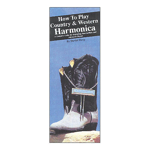Music Sales How to Play Country and Western Harmonica (Book)