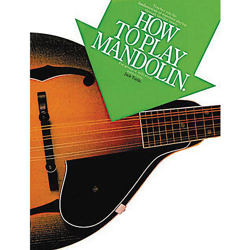 Music Sales How to Play Mandolin Music Sales America Series Softcover Written by Jack Tottle-thumbnail