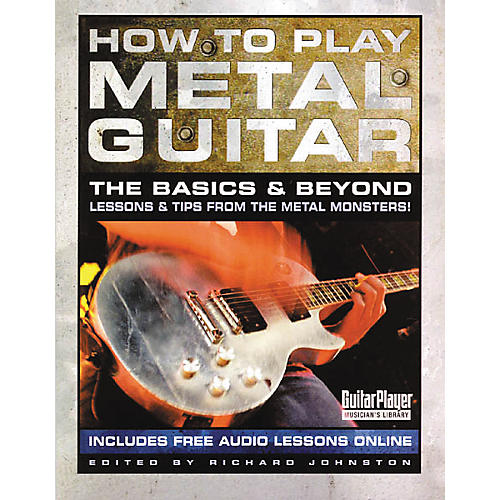 Backbeat Books How to Play Metal Guitar Book
