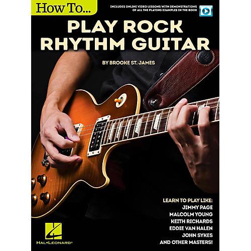 Hal Leonard How to Play Rock Rhythm Guitar - Book/Video Online-thumbnail