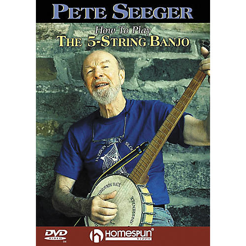 Homespun How to Play the 5-String Banjo (DVD)
