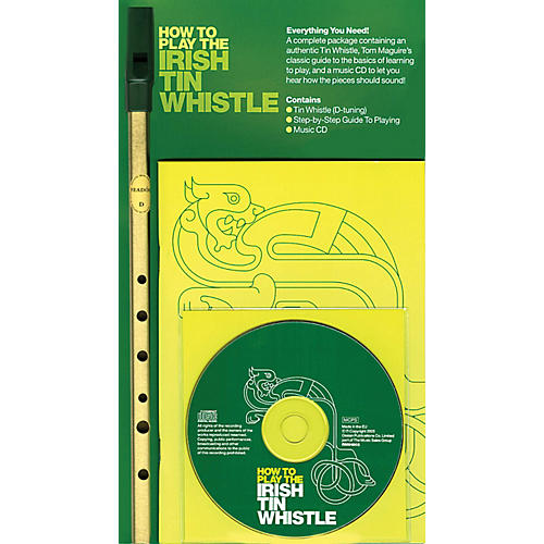 Music Sales How to Play the Irish Tin Whistle Music Sales America Series Softcover with CD-thumbnail