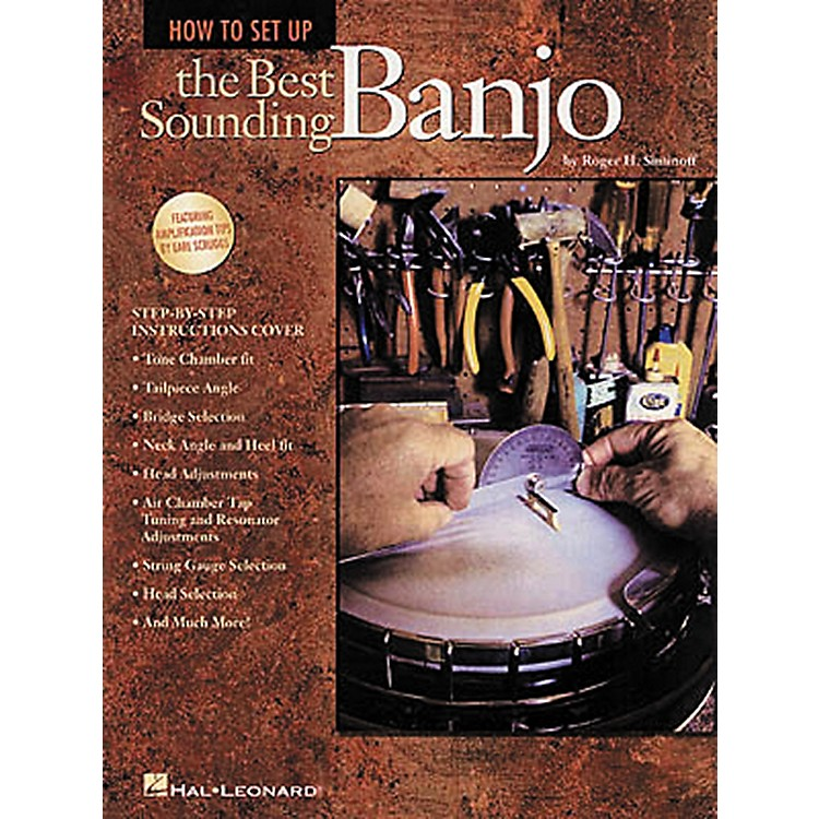 Hal Leonard How to Set Up the Best Sounding Banjo Book