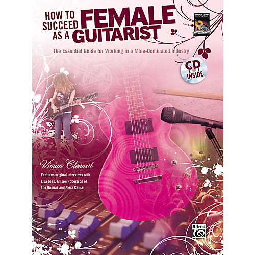 Alfred How to Succeed as a Female Guitarist Book and CD