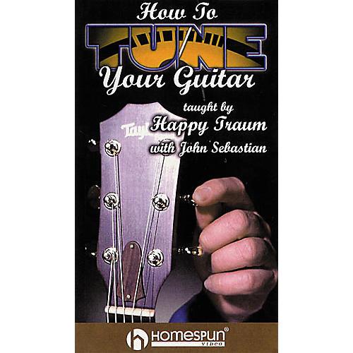 Homespun How to Tune Your Guitar (VHS)-thumbnail