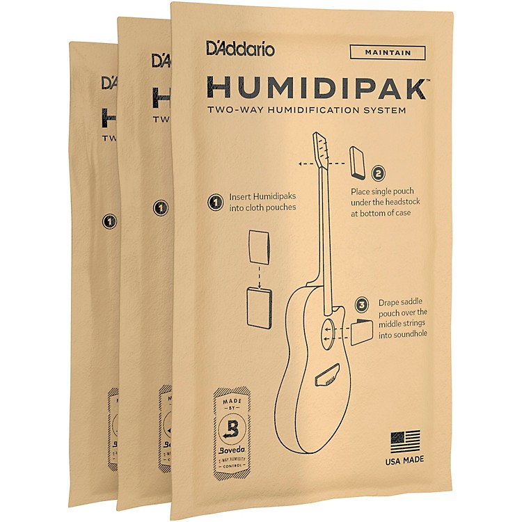 Planet Waves HuMIDIpak Replacement Packets - 3 Pack C