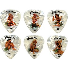 Clayton Hula Hottie Guitar Picks 1 Dozen