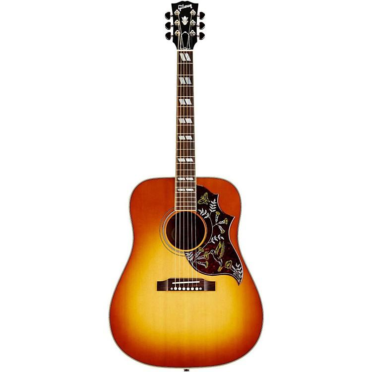 GibsonHummingbird Acoustic-Electric GuitarHeritage Cherry SunburstNickel