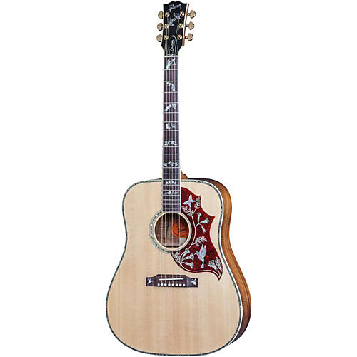 gibson hummingbird custom koa limited edition acoustic guitar musician 39 s friend. Black Bedroom Furniture Sets. Home Design Ideas
