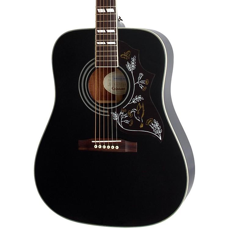 Epiphone Hummingbird Pro Black : epiphone hummingbird pro acoustic electric guitar ebony musician 39 s friend ~ Hamham.info Haus und Dekorationen