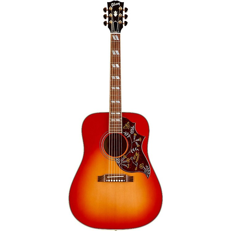 gibson hummingbird quilt custom acoustic guitar heritage cherry sunburst musician 39 s friend. Black Bedroom Furniture Sets. Home Design Ideas