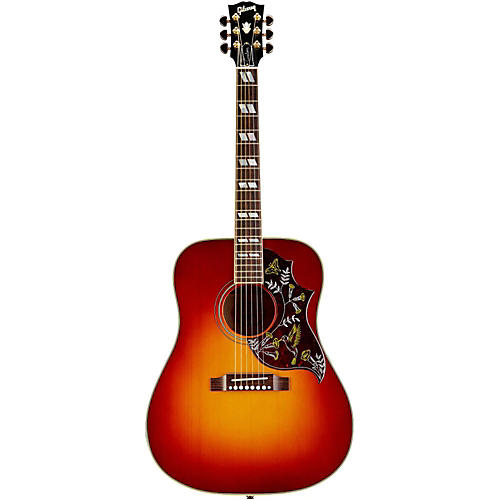 Gibson Hummingbird Quilted Red Spruce Acoustic-Electric Guitar