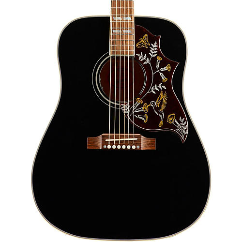 gibson hummingbird sshbaeg17 ebony special acoustic electric guitar musician 39 s friend. Black Bedroom Furniture Sets. Home Design Ideas