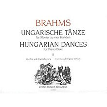 Editio Musica Budapest Hungarian Dances Piano 4 Hands Volume 2 EMB Series