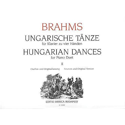 Editio Musica Budapest Hungarian Dances Piano 4 Hands Volume 2 EMB Series-thumbnail