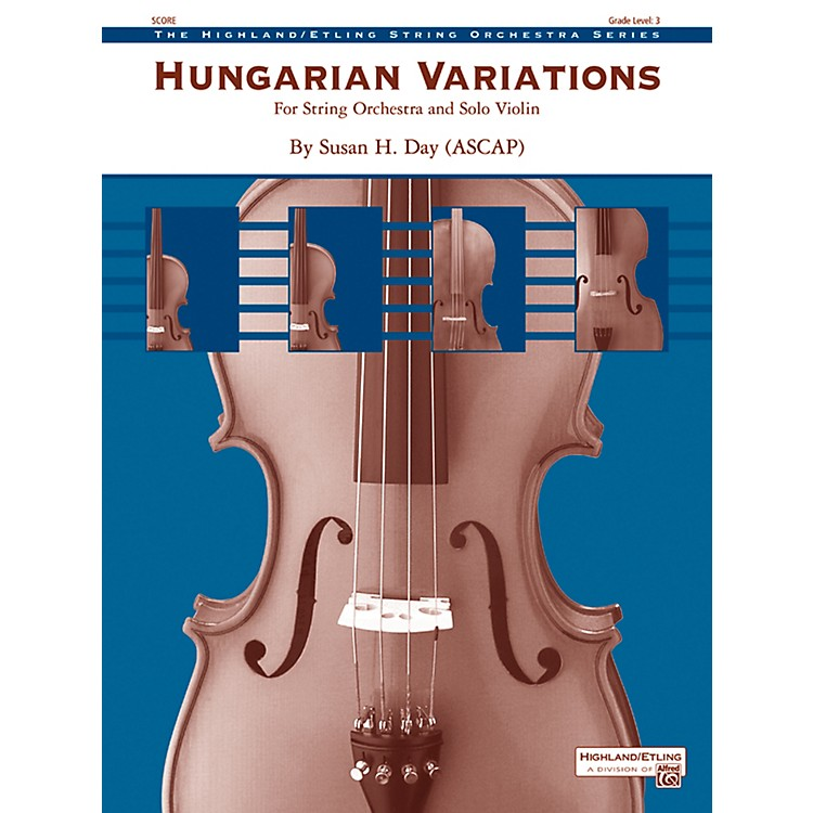 Alfred Hungarian Variations String Orchestra Grade 3 Set