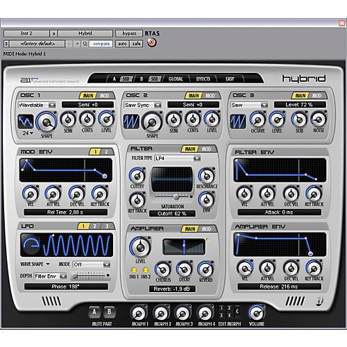 Digidesign Hybrid - High-Definition Synthesizer Educational Edition