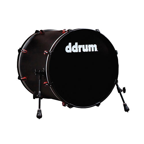 ddrum Hybrid Bass Drum Black 20X20