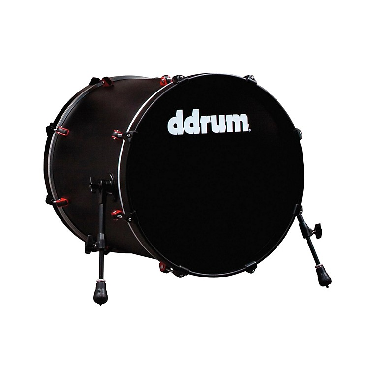 ddrum Hybrid Bass Drum Black 20X20