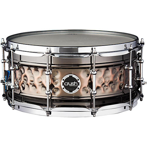 Crush Drums & Percussion Hybrid Hand Hammered Steel Snare Drum-thumbnail