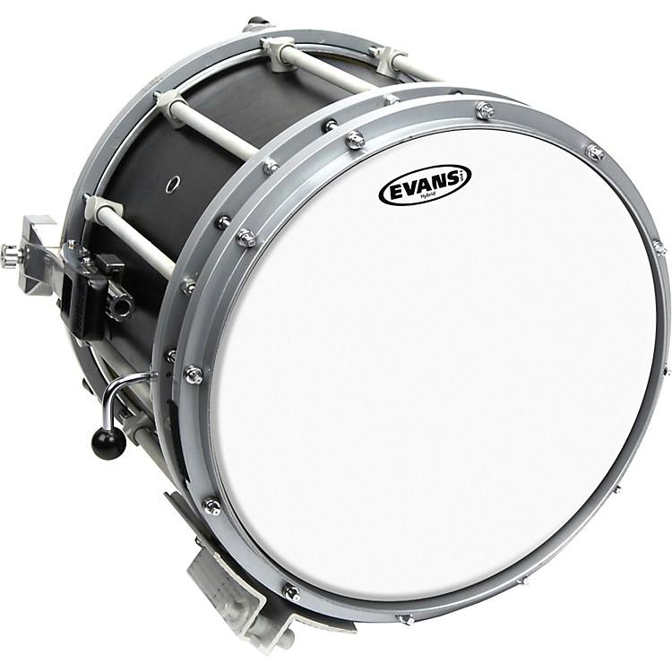 EvansHybrid Marching Snare Drum Batter HeadWhite13