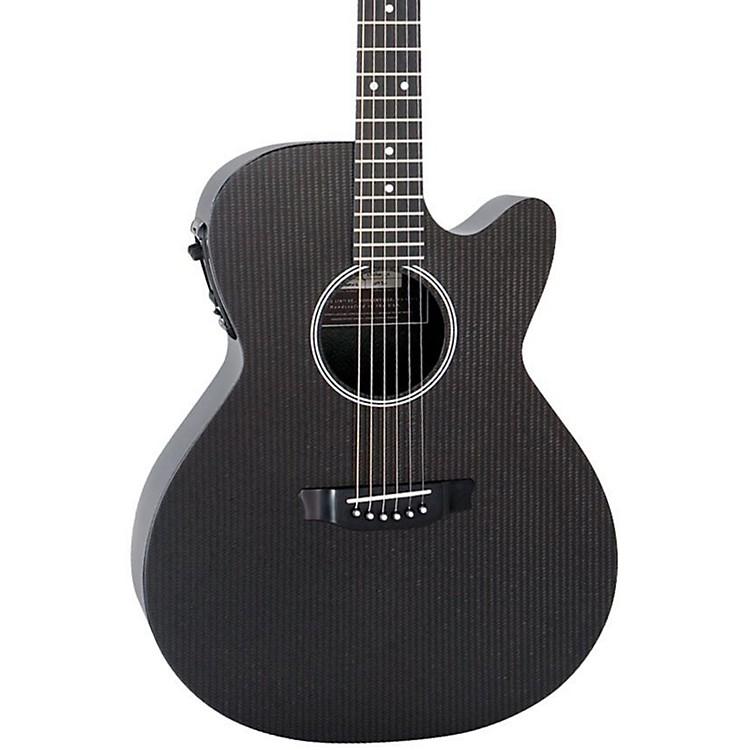 RainsongHybrid Series H-WS1000N2 Deep Body Cutaway Acoustic-Electric GuitarBlack