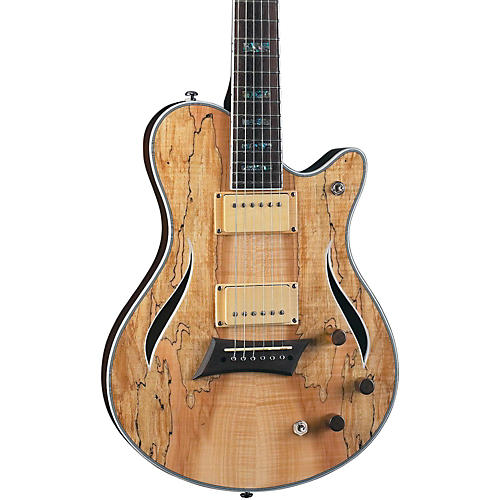 michael kelly hybrid special spalted maple top electric guitar musician 39 s friend. Black Bedroom Furniture Sets. Home Design Ideas