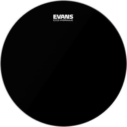 Evans Hydraulic Bass Drumhead Black 22 in.