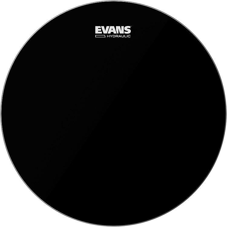 EvansHydraulic Bass DrumheadBlack22 inch
