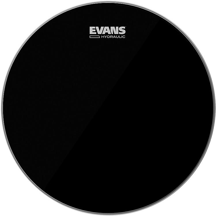 EvansHydraulic Black Tom Batter Drumhead15 IN