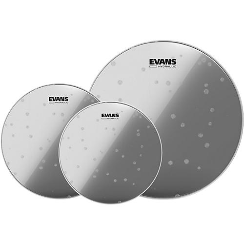 Evans Hydraulic Glass Drumhead Pack Rock