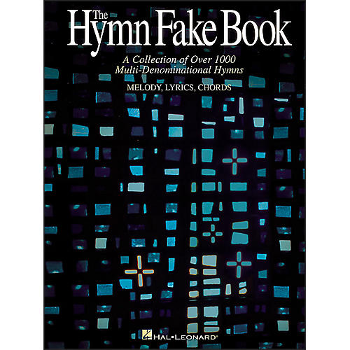 Hal Leonard Hymn Fake Book - Collection Of Over 1000 Multi-Denominational Hymns-thumbnail