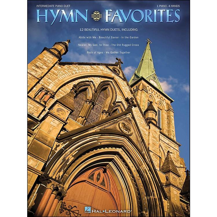 Hal LeonardHymn Favorites Intermediate Piano Duet 1 Piano, 4 Hands
