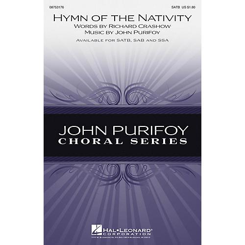 Hal Leonard Hymn of the Nativity SAB Composed by John Purifoy-thumbnail