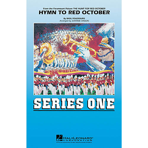Hal Leonard Hymn to Red October Marching Band Level 2 Arranged by Johnnie Vinson
