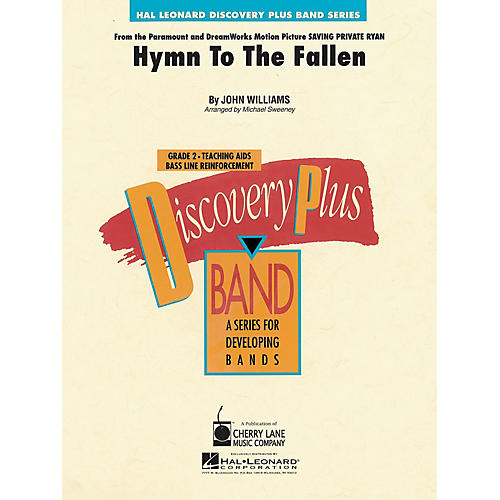 Hal Leonard Hymn to the Fallen (from Saving Private Ryan) - Discovery Plus Band Level 2 arranged by Sweeney