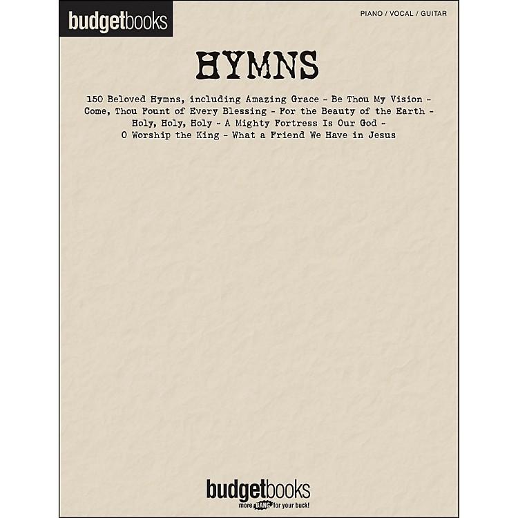 Hal LeonardHymns - Budget Books arranged for piano, vocal, and guitar (P/V/G)