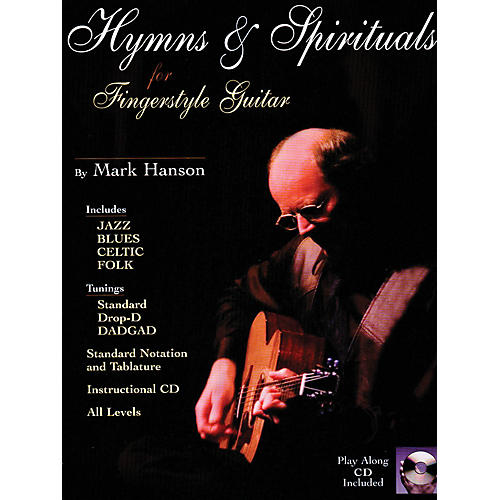 Music Sales Hymns & Spirituals for Fingerstyle Guitar Music Sales America Series Softcover with CD