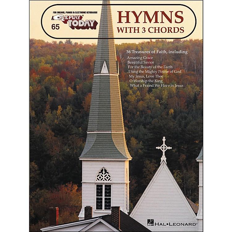 Hal LeonardHymns With 3 Chords E-Z Play 65