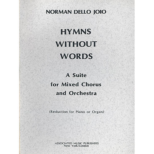 Associated Hymns Without Words (SATB) SATB composed by Norman Dello Joio-thumbnail