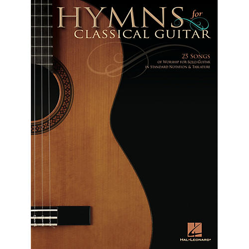Hal Leonard Hymns for Classical Guitar Guitar Solo Series Softcover-thumbnail