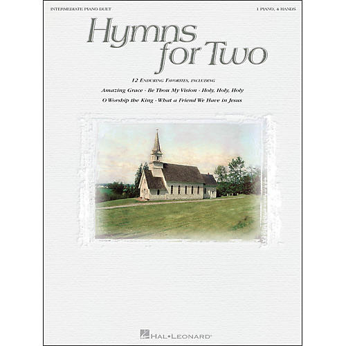 Hal Leonard Hymns for Two Intermediate Piano Duet 1 Piano, 4 Hands