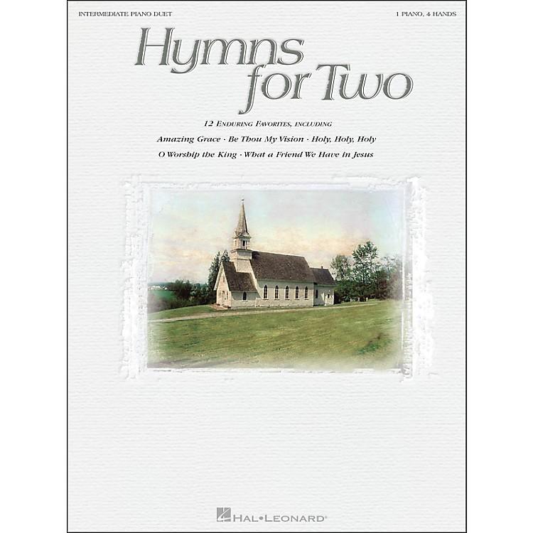 Hal LeonardHymns for Two Intermediate Piano Duet 1 Piano, 4 Hands