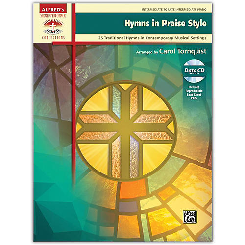 Alfred Hymns in Praise Style, Book & CD (includes PDFs of Lead Sheets), Intermediate / Late Intermediate-thumbnail