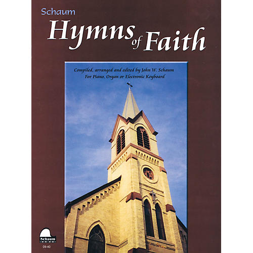 SCHAUM Hymns of Faith Educational Piano Series Softcover-thumbnail