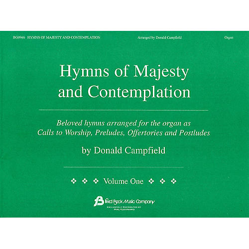 Fred Bock Music Hymns of Majesty and Contemplation-thumbnail