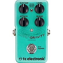 TC Electronic HyperGravity Compressor Guitar Pedal Level 1
