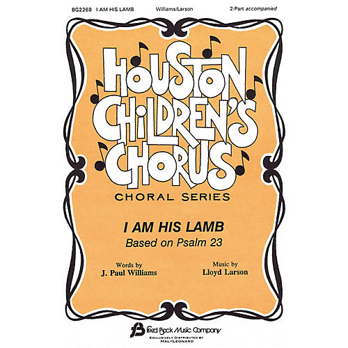 Fred Bock Music I Am His Lamb 2-Part composed by J. Paul Williams-thumbnail