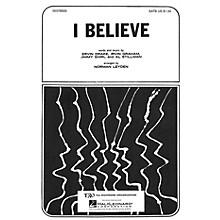 TRO ESSEX Music Group I Believe 3 Part Treble Arranged by Norman Leyden